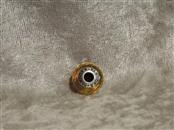 PANDORA CHARM FASCINATING OCHRE GLASS FACETED 791629